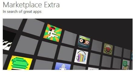 Microsoft presenta la web de entrada para Windows Phone, Marketplace Extra