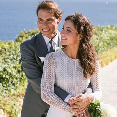 Rafa Nadal y Xisca Perelló ya son marido y mujer. Así son los dos vestidos de la novia