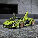 El Lamborghini Sián FKP 37 de LEGO es un objeto del deseo que todos queremos en la repisa de nuestra casa