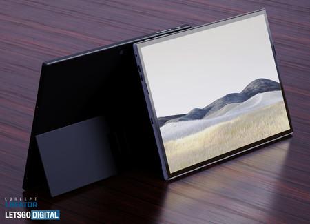 Este diseño muestra como podría ser el aspecto de un nuevo Surface Pro 8 con clara inspiración el en Surface Pro X