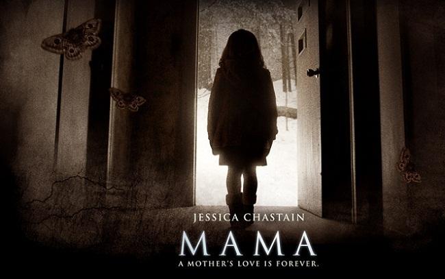 Imagen con un cartel de 'Mamá'