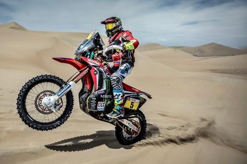 ¡Enorme! Joan Barreda da un golpe de autoridad y remonta siete puestos en la general del Dakar 2018