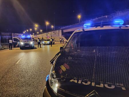Policia Coche