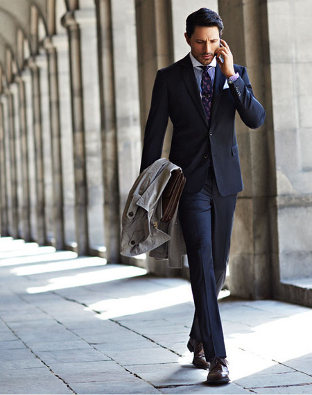andres velencoso suit HE by mango aw 2013