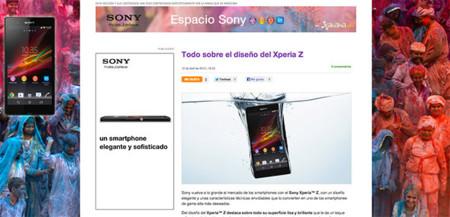 Presentamos el Espacio Sony, el lugar ideal para descubrir todo sobre el Sony Xperia Z