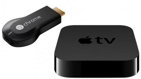 Apple Tv y chromecast