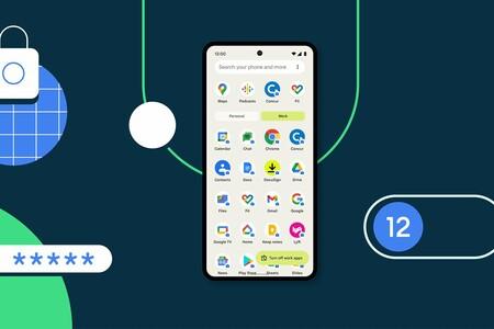 Android 12 mejora la privacidad en los móviles empresariales: USB sólo para cargar, contraseña para el perfil de trabajo y más