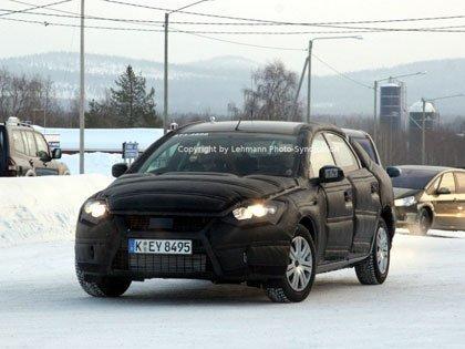 2007 Ford Mondeo, fotos espías