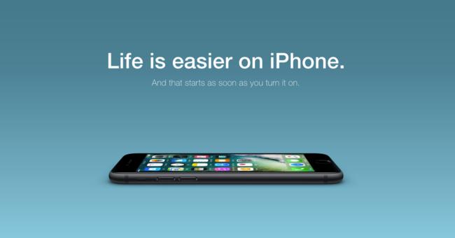 La vida es más fácil con un iPhone