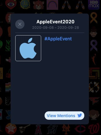 Appleevent Hashtag