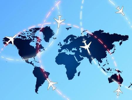 Aerolíneas asiáticas y probabilidades de estrellar el avión