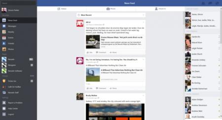 La aplicación oficial de Facebook llega a Windows 8.1