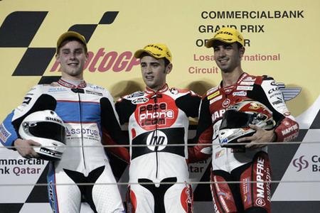 Qatar 2009 podio 250