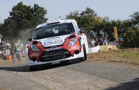 Rally de Alemania, Evgeny Novikov abandona en el segundo tramo