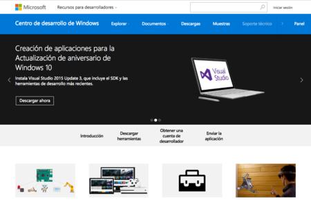 El Centro de Desarrollo de Windows  vuelve a renovarse