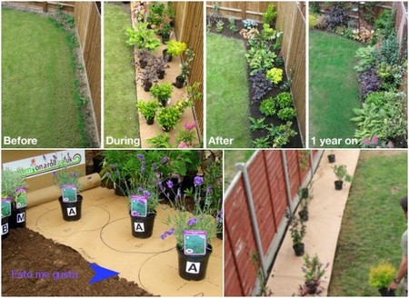 Una buena idea packs para dise ar arriates de jard n - Disenar jardin online ...