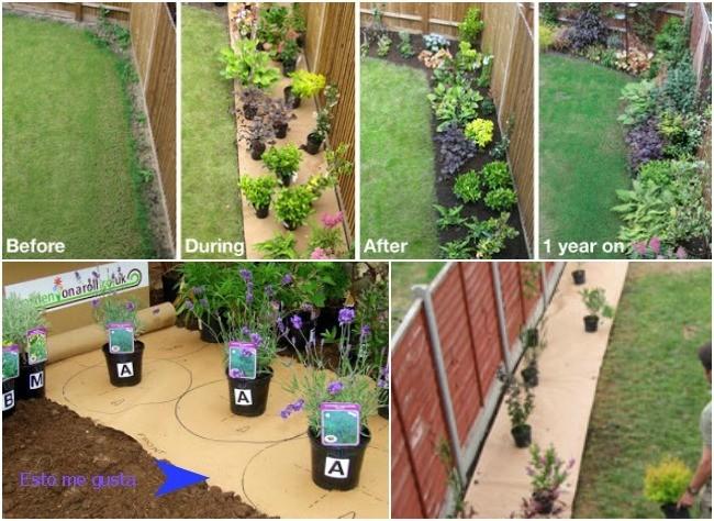 Una buena idea packs para dise ar arriates de jard n for Arriate jardin
