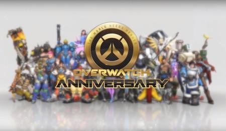 Overwatch ya ha comenzado a celebrar su aniversario y estos son sus contenidos temáticos