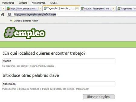 Tagempleo, un portal para buscar trabajo basado en Twitter