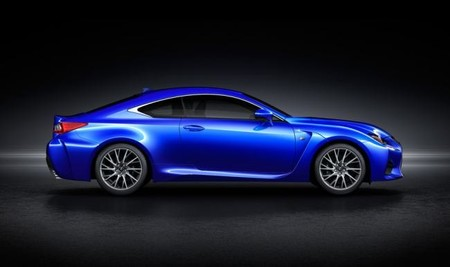 Lexus-RC-F side
