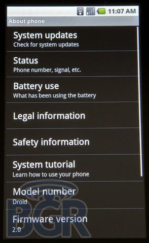 Foto de Android 2.0, primeras imágenes (23/32)