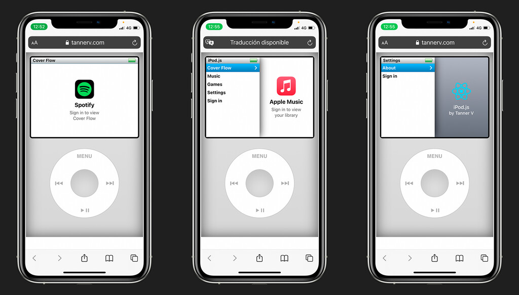 Este divertido reproductor te deja escuchar Spotify o Apple Music con el mismo estilo y controles del iPod clásico