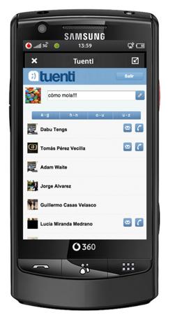 Vodafone 360 Tuenti