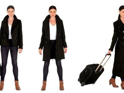 ¿Eres de las que nunca es capaz de cerrar la maleta? Este abrigo puede solucionarlo sin necesidad de pagar exceso de equipaje