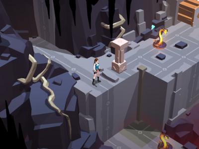 Lara Croft GO en oferta con una rebaja del 80% de descuento en Google Play ¡Sólo a 0,99 euros!