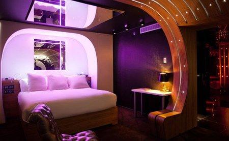 suite 007 hotel seven - dormitorio