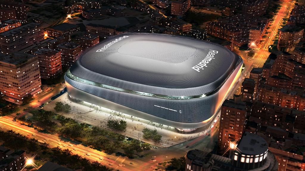 El nuevo Santiago Bernabéu y sus 100 millones de euros en tecnología: pantalla de 360 grados, techo retráctil y zona para eSports