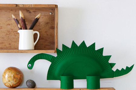 Manualidades Dinosaurios Plato 1