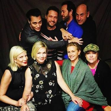 Vuelven los 90 con la reunión de los actores de 'Sensación de Vivir'