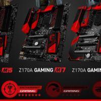 Las motherboards MSI Z170 Gaming M Series incluyen de todo en un  factor micro-ATX