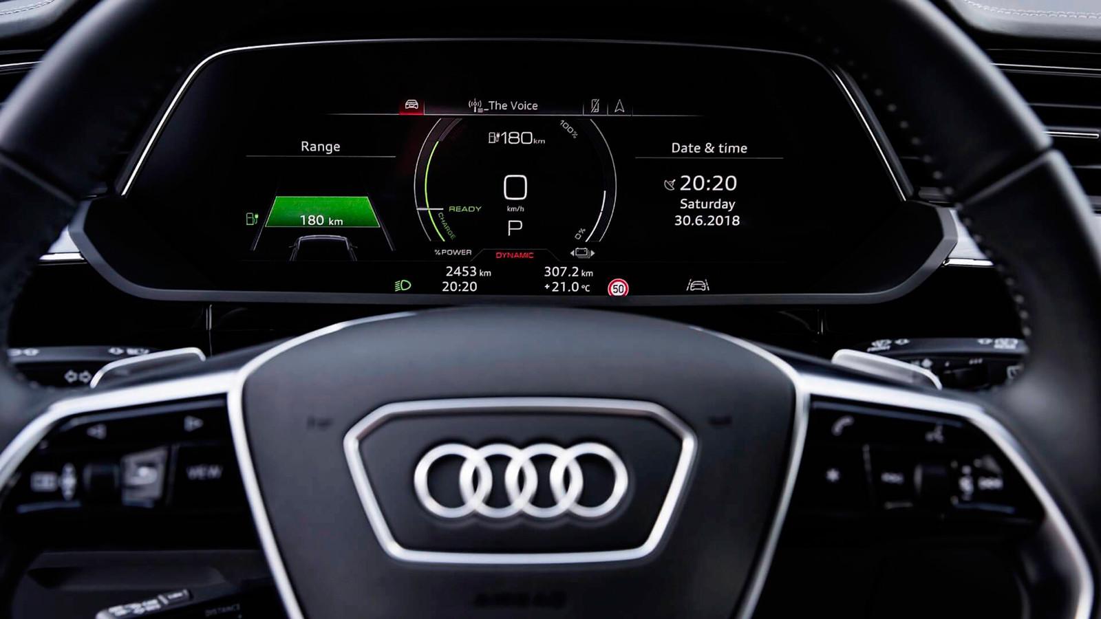 Foto de El habitáculo del Audi e-tron, al descubierto (12/19)