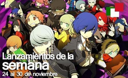 Lanzamientos de la semana en México del 24 al 30 de noviembre