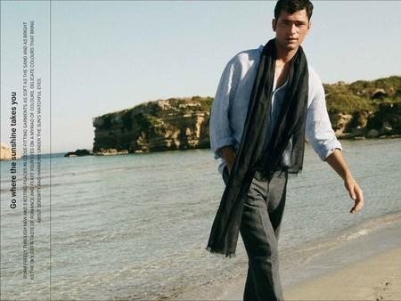 Massimo Dutti Sartorial Relajado Verano Sean Opry Model 6