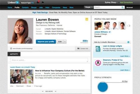 LinkedIn también se renueva: así es el nuevo diseño de los perfiles de usuario