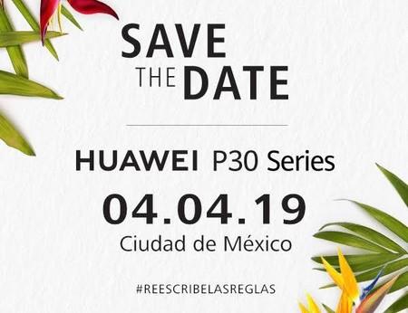 Los Huawei P30 llegarán a México más rápido de lo esperado: la cita es el 4 de abril