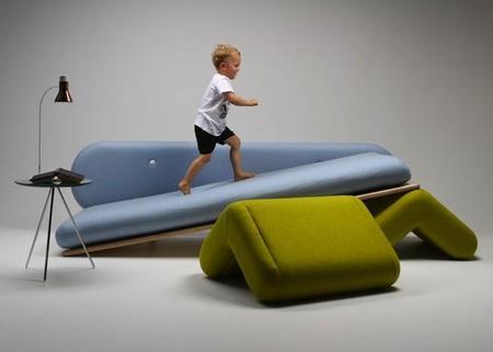 El sofá más juguetón by Marvin Reber