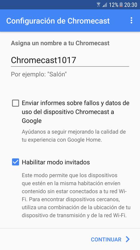 Asigna Un Nombre Al Chromecast