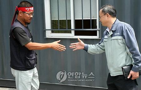 Fin de la huelga en la fábrica de SsangYong