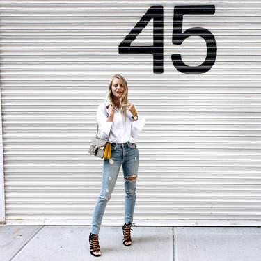 17 looks que te inspirarán para llevar sandalias con pitillo y no esperar a los shorts vaqueros