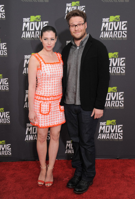 Lauren Miller mtv movie awards 2013