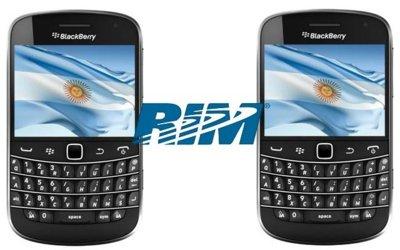 Argentina empezará a fabricar terminales BlackBerry en octubre