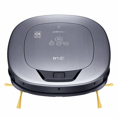 El robot de limpieza LG VR65710LVMP Hombot Turbo Serie 10, con mapeo y doble cámara, está rebajado a 199,99 euros en Amazon