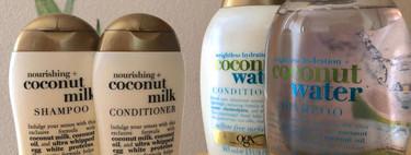 Hemos probado este champú de OGX con aroma a coco y flipamos con lo desenredado que nos deja el pelo