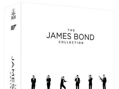 Pack James Bond, con las 24 películas del agente 007 en Blu-ray, por 68,24 euros