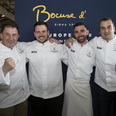 El equipo español eliminado del Bocuse d'Or 2018: queda decimoprimero de Europa