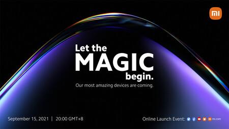 Oficial: los Xiaomi 11T se presentarán el 15 de septiembre y al menos uno cargará a 120W